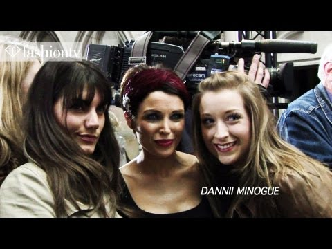 Dannii Minogue & Pixie Geldof: After the Giles Spring 2012 Fashion Show in London | FashionTV - FTV