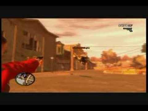 GTA IV Wierd Glitch Hovering Bike