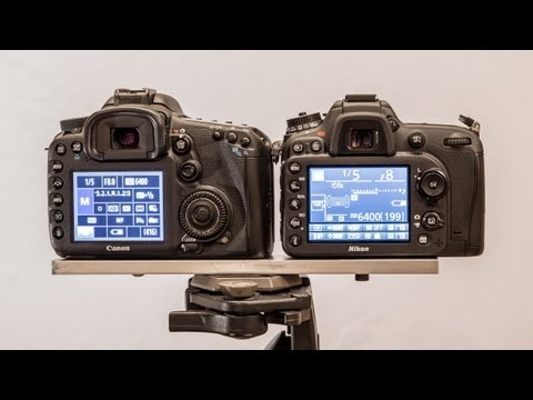 Nikon D7100 vs Canon 7D Part 2 - Video Features | Which is the best Video DSLR