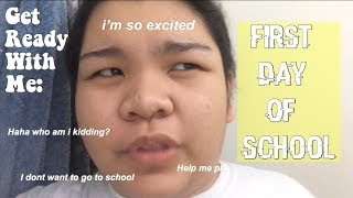 GET READY WITH ME: First Day of School! \\ bettybaboy