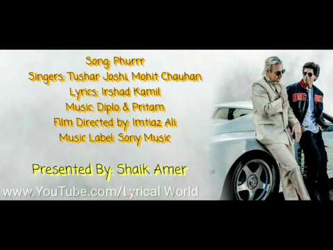 Phurrr Full Song Lyrics | Diplo & Pritam | Jab Harry Met Sejal.