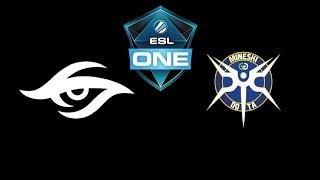 Secret vs Mineski ESL One Katowice 2019 Highlights Dota 2