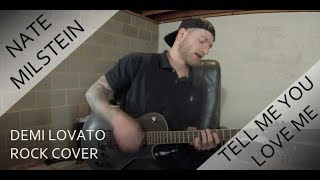 Download Lagu Demi Lovato - Tell Me You Love Me (Rock Guitar Cover) Gratis STAFABAND