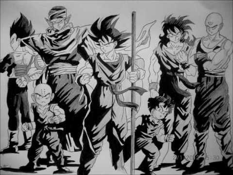 Black Characters Dragon Ball z Dragon Ball z Characters