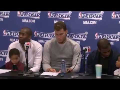 Postgame- Blake Griffin, Crawford, & CP3 - vs Grizzlies - Game 2 - 2013 NBA Playoffs