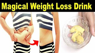 How to lose Belly Fat Using only 4 Ingredients in 4 days Super Fast ! NO EXERCISE NO DIET