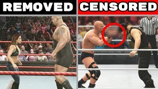 10 Non-PG WWE Games Features That Had To Be Changed