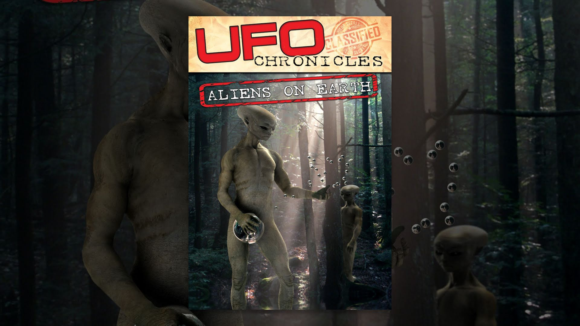 UFO Chronicles Aliens on Elysium Poster