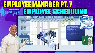 Schedule Your Employee Training, Leave, Holidays & Weekends in this Excel Employee Manager [Part 7]