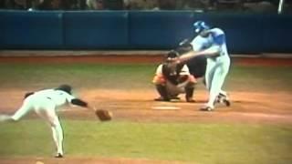 Los Angeles Dodger's Pedro Guerrero World Series Home Run