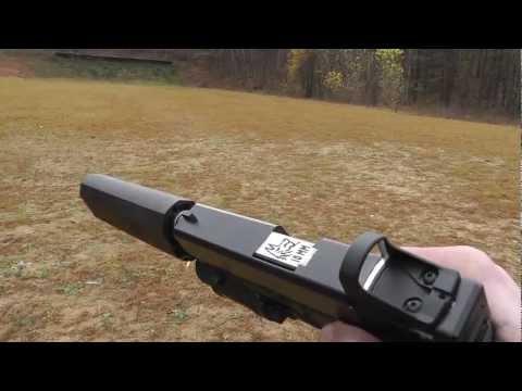 Glock 20 10mm Suppressed - YHM Cobra M2 40 vs Silencerco Osprey 40 - Lone Wolf Threaded Barrel