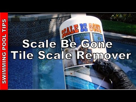 Scale Be Gone - Removes SCALE From Pool Tiles & Vinyl Liners