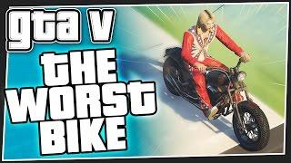 THE WORST BIKE - GTA 5 Online (GTA V Funny Moments)