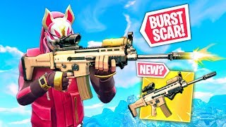 *NEW* BURST SCAR! | Fortnite Funny and Best Moments Ep.291 (Fortnite Battle Royale)