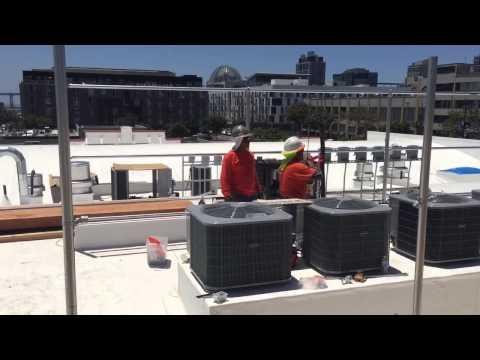 Urban academy roof 6/23/15