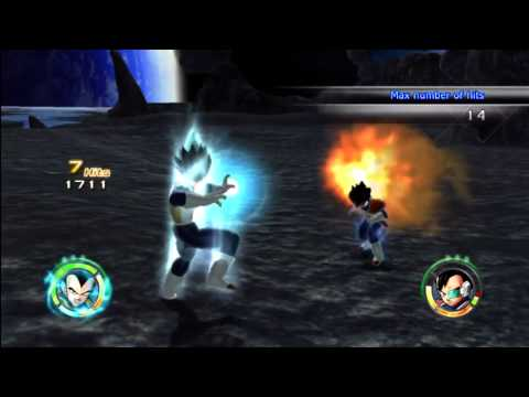 Dragonball Z Raging Blast 2 - Vegeta VS Tarble