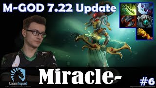 Miracle - Medusa MID | M-GOD 7.22 Update Patch | Dota 2 Pro MMR Gameplay #6