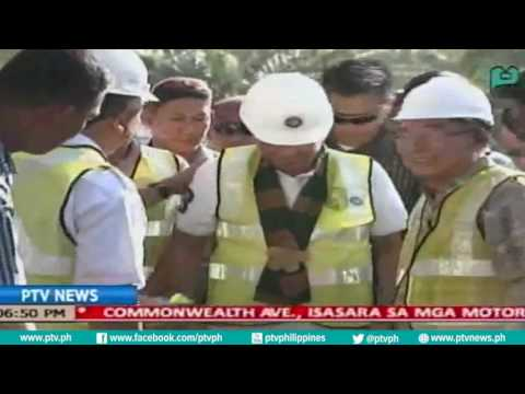 [PTVNews-6pm] Pres Duterte, pinangunahan ang inspeksyon sa 5 megawatt powerplant sa Maguindanao