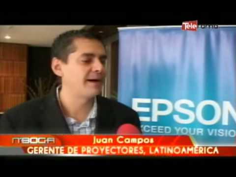 Epson lanza en Ecuador nueva línea de proyectores