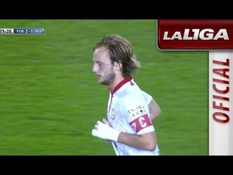 Gol de Ivan Rakitic (2-1) en el FC Barcelona - Sevilla FC - HD