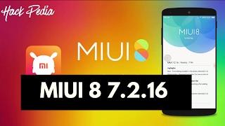 Redmi Note 3 Marshmallow MIUI 8 7.2.16 NEW UPDTAE !