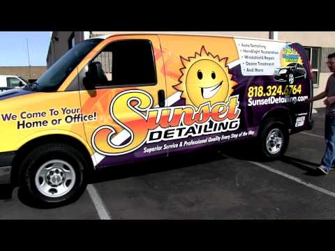 Mobile Auto Detailing Van: Vehicle Wrap & Auto Detailing Equipment by Rightlook