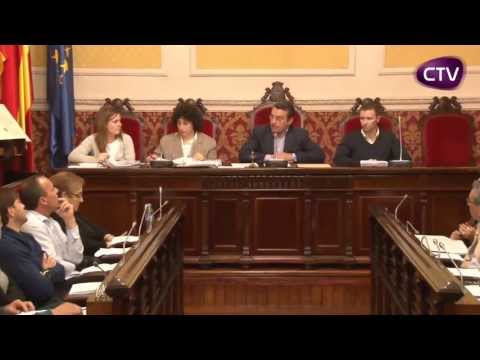 PRIMERA PART DEL PLE ORDINARI DE L'AJUNTAMENT DEL MES D'ABRIL