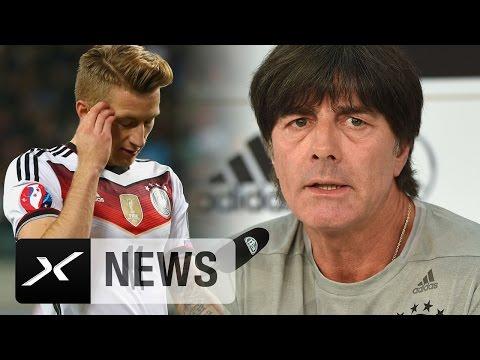 DFB-Hammer bei Joachim Löws EM-Kader: Marco Reus verletzt raus   DFB-Team   EM 2016 Frankreich
