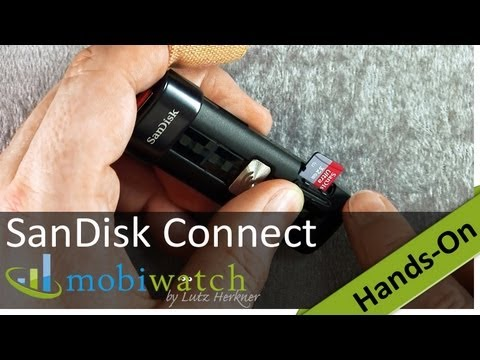 USB Stick With Wi-Fi: SanDisk Connect Wireless Flash Drive