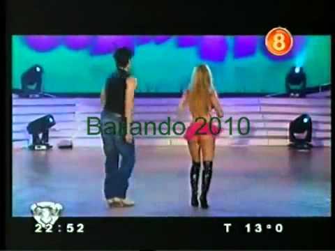 Jesica Cirio bailando cuarteto