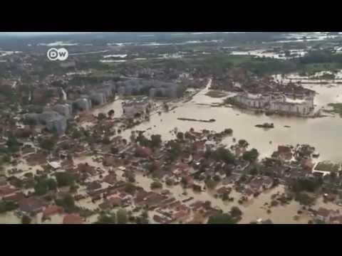 Balkan countries face flooding