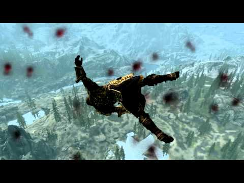 The Elder Scrolls Skyrim low orbit satellite