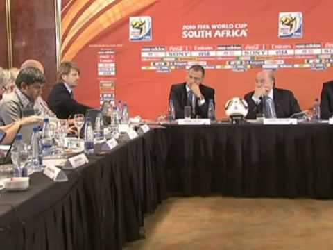 FIFA World Cup 2010 - Sepp Blatter furthers discussions about England and Mexico referee mistakes