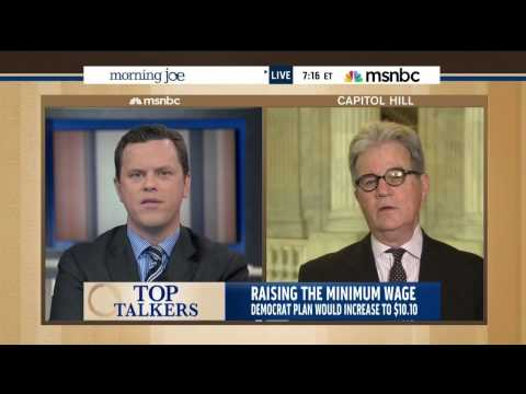 Tom Coburn on the minimum wage