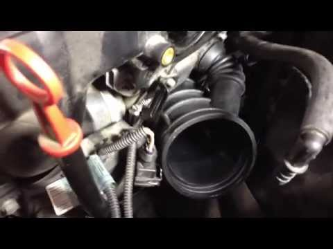 BMW E46 Intake Boot, Throttle Body, Idle Control Valve