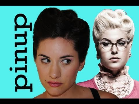 Perfect Pinup Girl Hair Tutorial  - Triple Victory Roll - Doris Mayday inspired