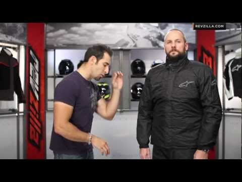 Alpinestars Quick Seal Out Two-Piece Rain Suit Review at RevZilla.com
