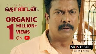 Thondan - MovieBuff Sneak Peek | P Samuthirakani, Vikranth, Sunainaa