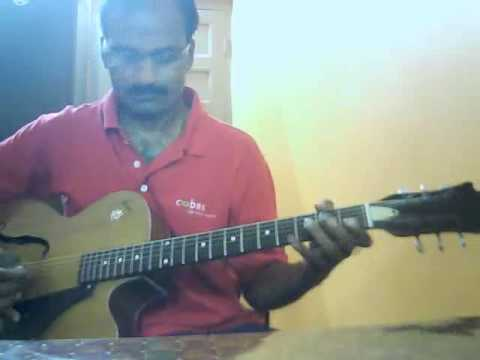 Sreekumar Nair Dombivili On Guitar Hindi : Yaad Kiya Dil Ne Kaha Ho Tum Dombivili video