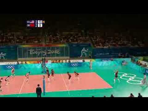 USA vs China - Women's Volleyball - Beijing 2008 Summer Olympic Games