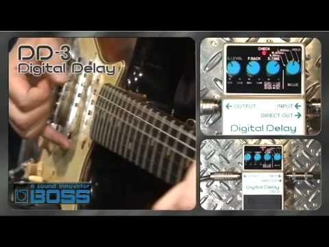 DD-3 Digital Delay  [BOSS Sound Check]