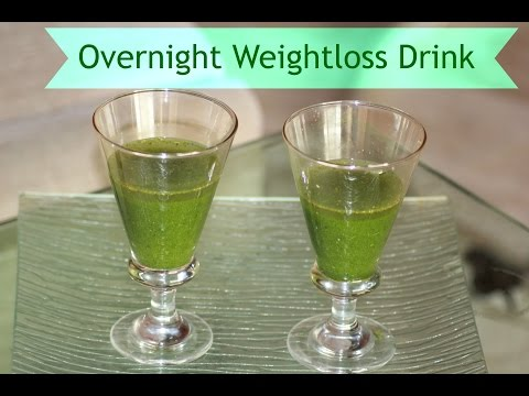 Overnight Weight Loss Drink Belly Fat Burner   Episode 3