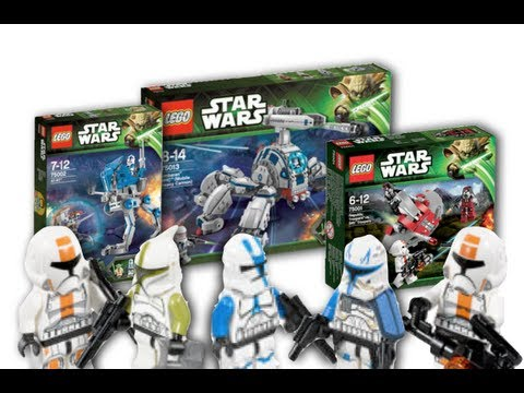 LEGO Star Wars 2013 Winter Set Pictures & Minifigures