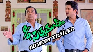 S/O Satyamurthy Telugu Movie   Comedy Trailer   Allu Arjun   Samantha   Trivikram