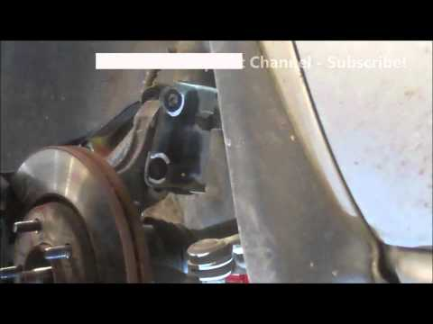 CV axle replacement Dodge Caravan 2007 Drivers side front axle Install remove replace