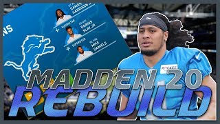 Jahlani Tavai Proves He Was Worth the Pick | Madden 20 Detroit Lions Rebuild