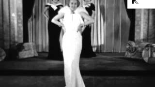 1930s Fashion Show, Evening Gowns