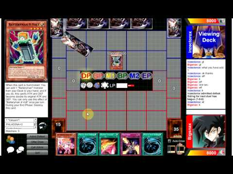 Competitive Yugioh Duels - Batteryman (me) Vs Batteryman : There Will Be Blood video