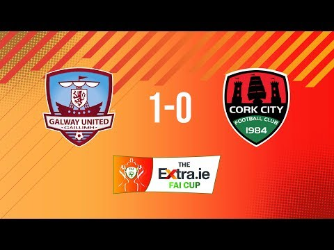 Extra.ie FAI Cup Second Round: Galway United 1-0 Cork City