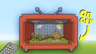 Minecraft working tv